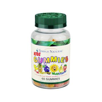 【健康宝宝吃饭香】KidsGummies Multivitamins思然儿童综合维生素软糖60粒/瓶