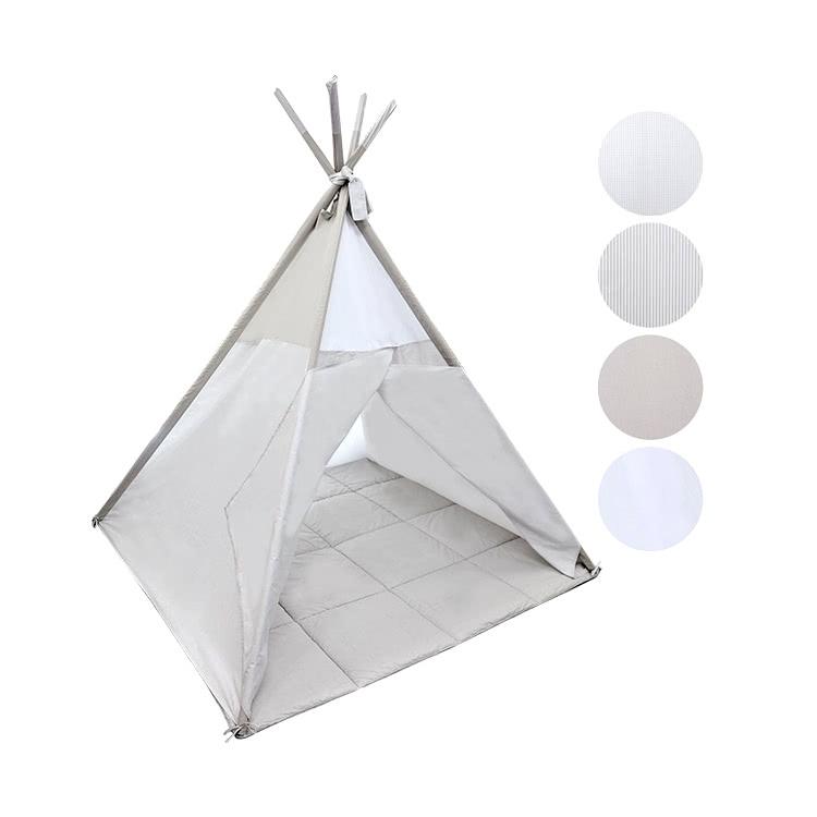 德国原装进口 Belily帐篷两件套-泰迪熊系列 含地垫 室内帐篷 游戏屋