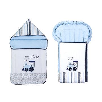 德国原装进口 Belily睡袋-火车系列 婴儿四季保暖睡袋