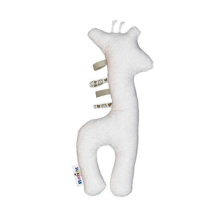 德国原装进口 Belily长颈鹿形枕头-小狮子系列 动物抱枕 卡通玩偶