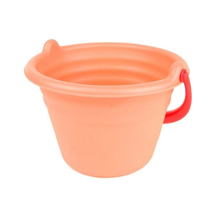 Toyroyal皇室 Flex水桶(蜜桃红)幼儿沙滩玩具