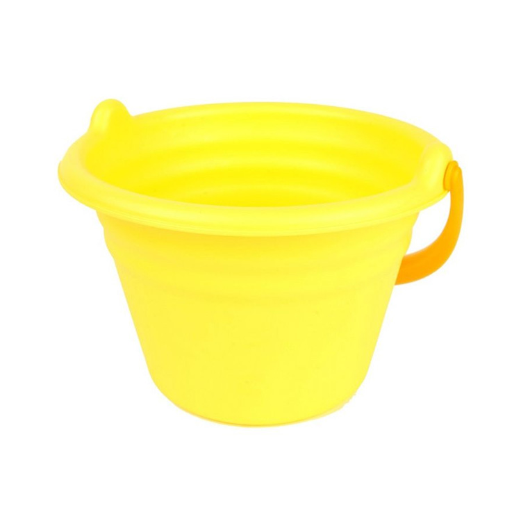 Toyroyal皇室 Flex水桶(香蕉黄)幼儿沙滩玩具