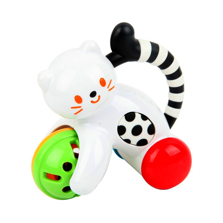 Toyroyal皇室 摇铃系列 小猫摇铃 TR3331