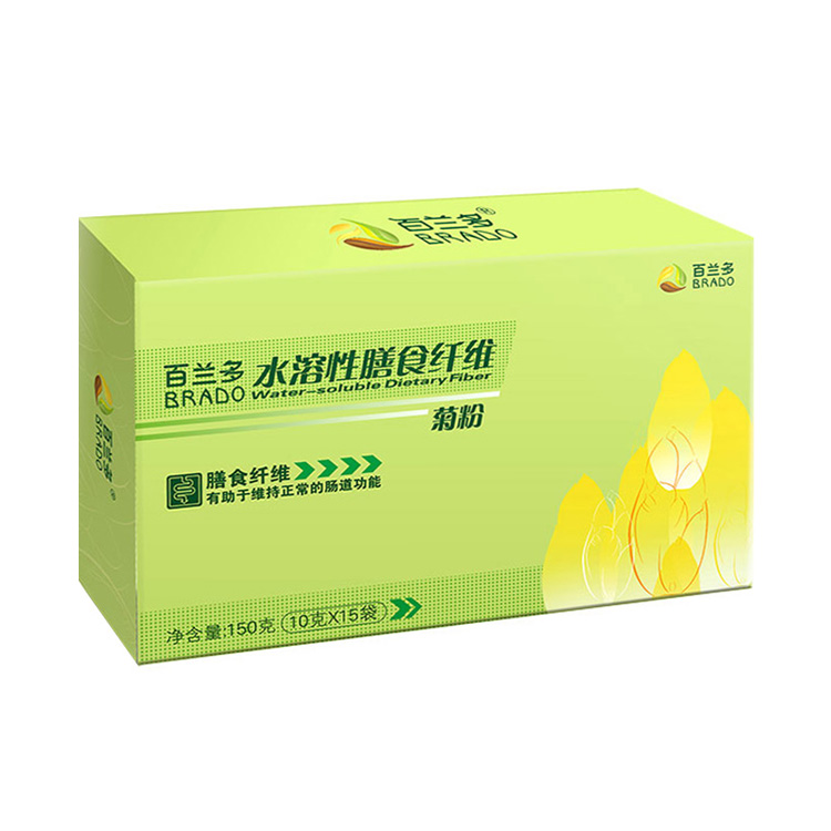 【为肠道减负】百兰多 水溶性膳食纤维 菊粉 10g*15袋