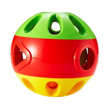 【亲子互动玩具】澳贝 响铃滚滚球 铃铛手抓球 46334