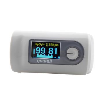 【可显示血氧饱和度和脉率】鱼跃牌 指夹式脉搏 血氧仪YX301