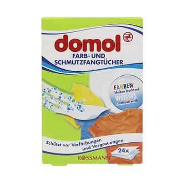 【德国原装进口】Domol防染色吸色片24片 混洗衣物防染色