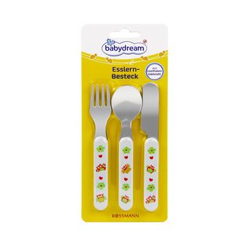 【不含EPA 钝刃设计】德国原装进口  Babydream儿童学习餐具