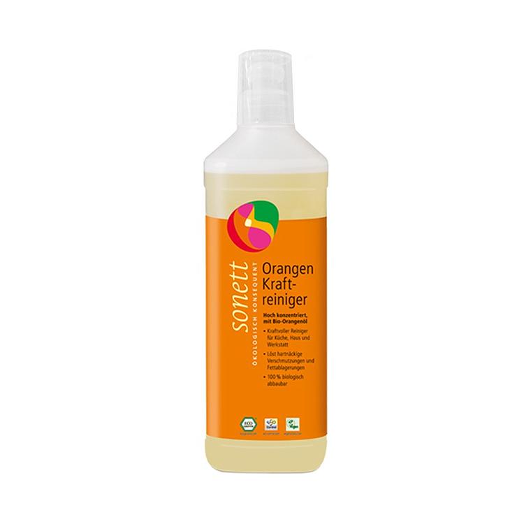 【还原洁净厨房】德国原装进口 Sonett索奈特 柑橘厨房去污剂500mL 不伤手洗洁精