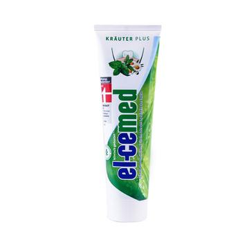 【清新口气】德国原装进口El-cemed草本清新牙膏100ml 植物清香