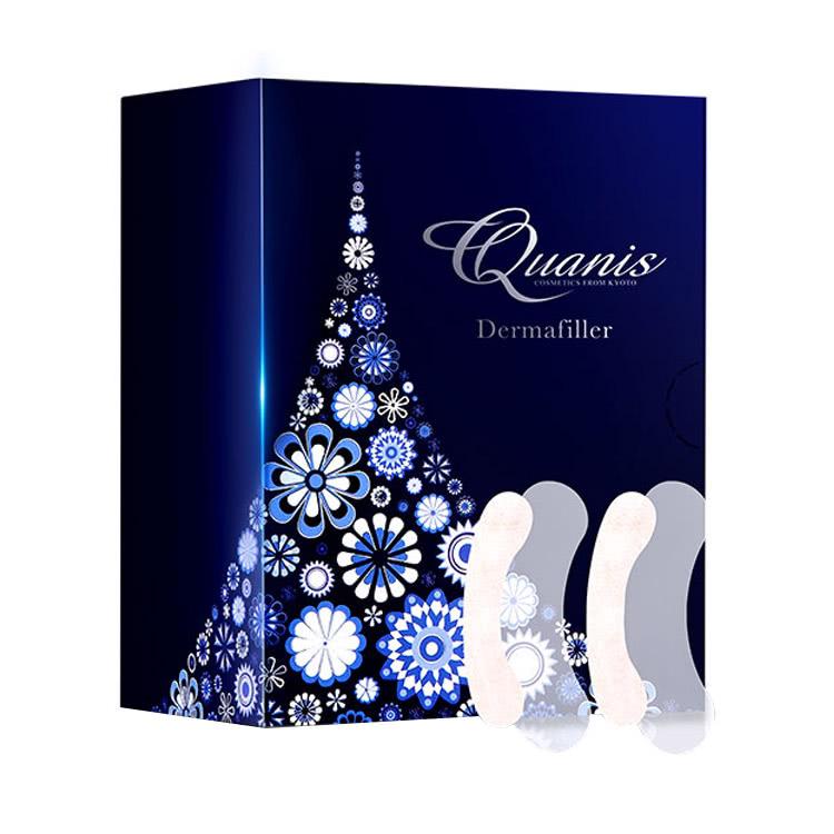 【买1送1盒1对装,到手7对】Quanis克奥妮斯玻尿酸微针眼贴1300针*6对 逆龄黑科技