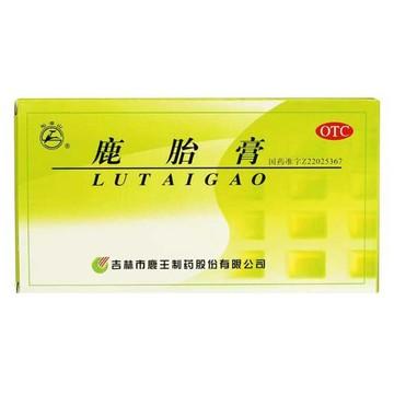 龙潭山 鹿胎膏 5g*12块/板 月经量少 后错 腹痛 白带量多 5盒