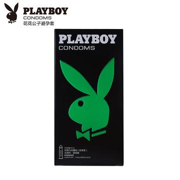 花花公子 PLAYBOY 天然胶乳橡胶避孕套经典系列组合型 10只装