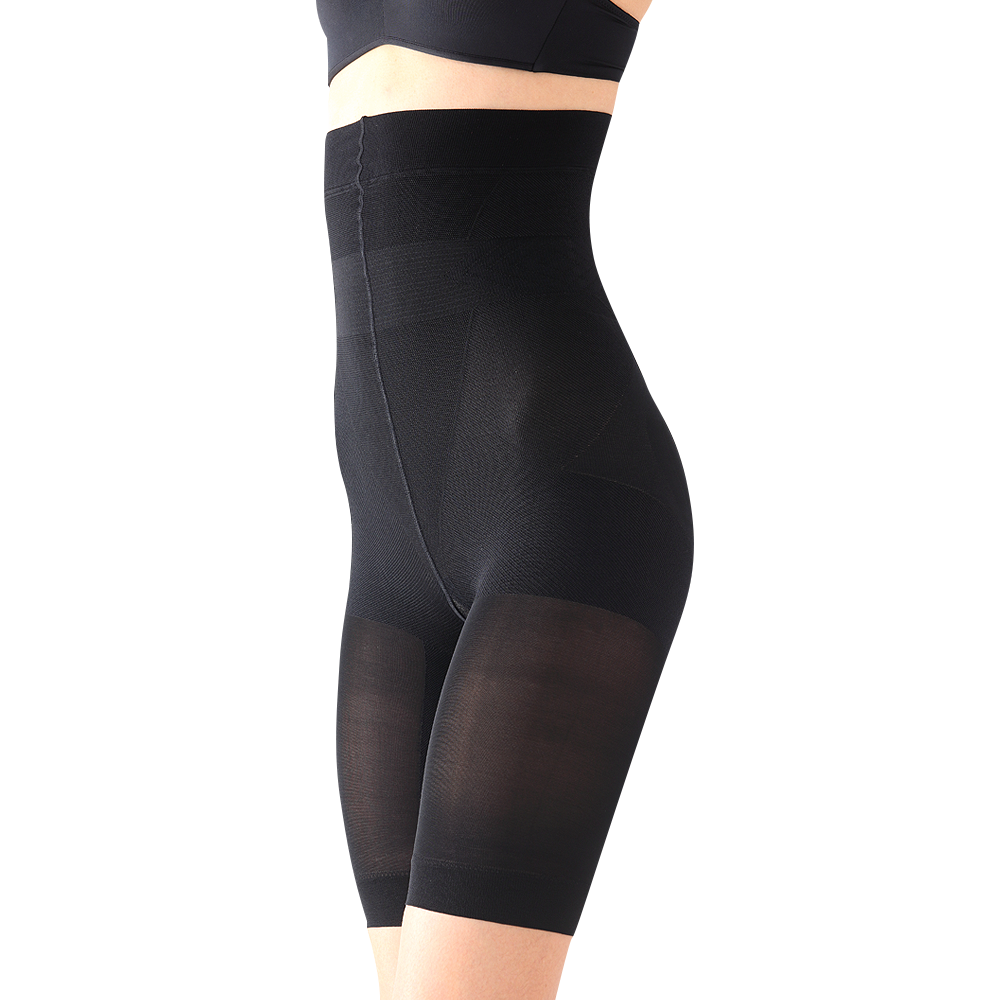 日本 STYLE UP 骨盆紧身裤-高腰黑色 M号*1件装