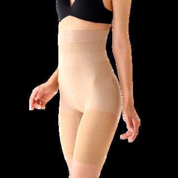 日本 STYLE UP 骨盆紧身裤-高腰肉色 M号 *1件装