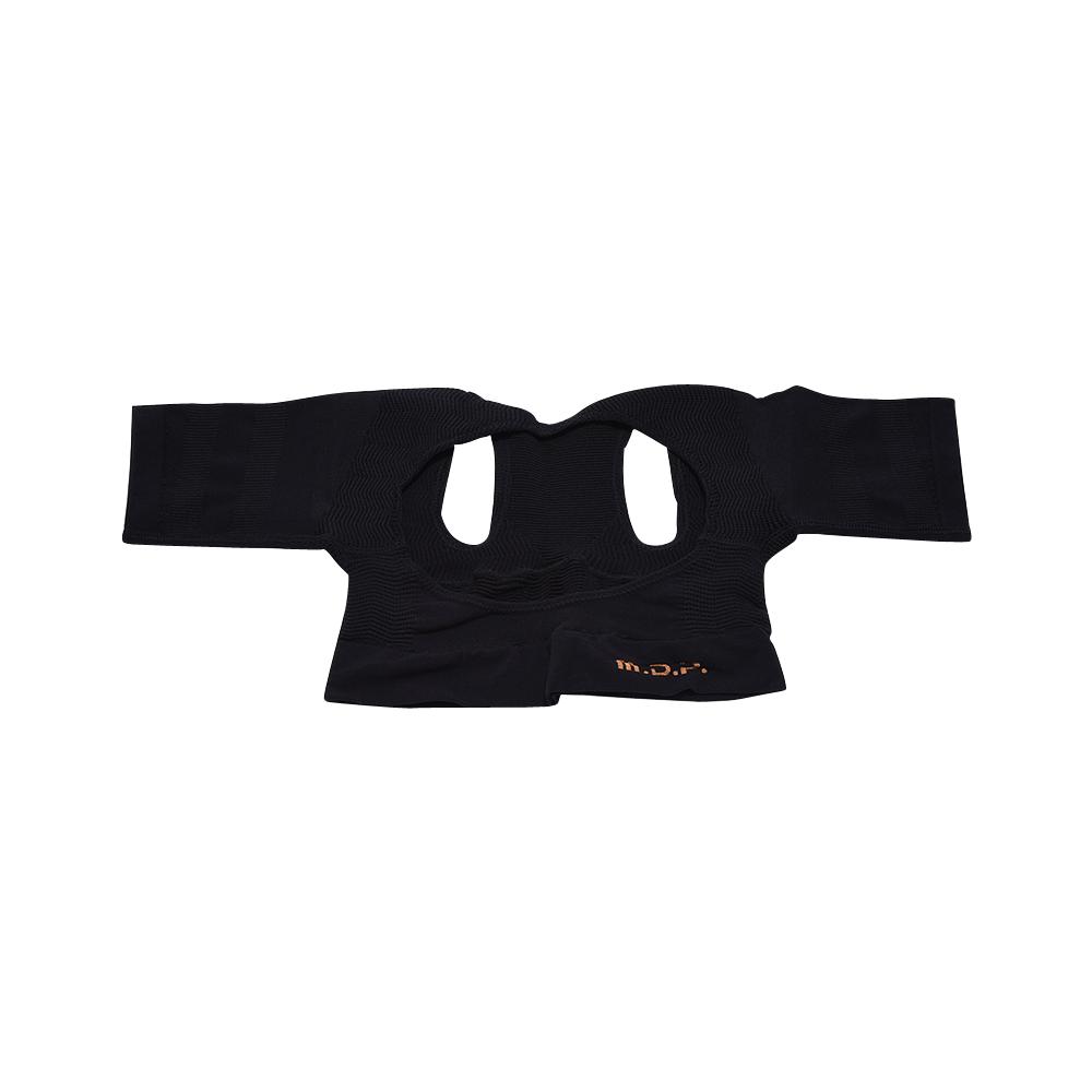 日本 MEIDAI 胜野式肩乐塑身衣-黑色L-LL 1件装