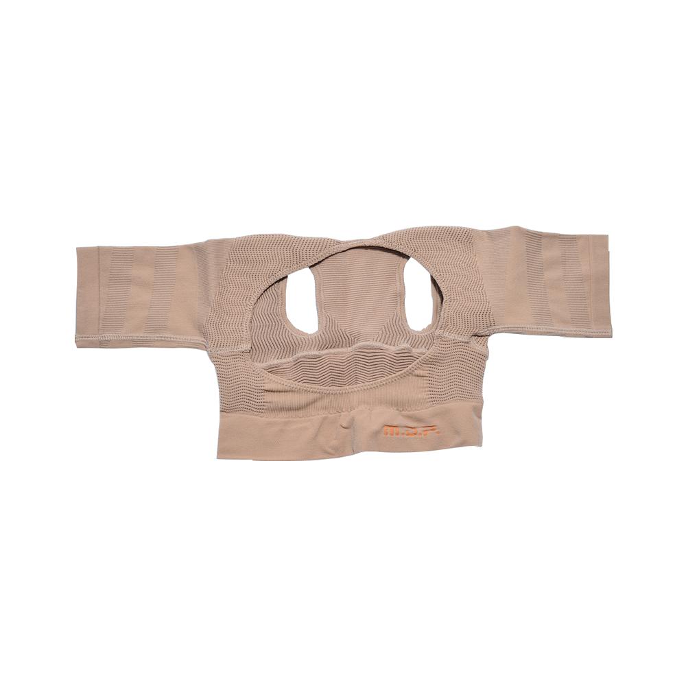 日本 MEIDAI 胜野式肩乐塑身衣-米色M-L 1件装