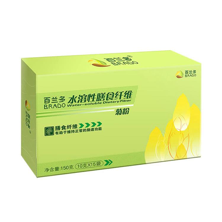 【3盒装】【为肠道减负】百兰多 水溶性膳食纤维 菊粉 10g*15袋