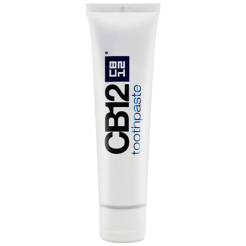 【限时1件8折  2件75折】意大利进口CB12去口臭亮白固齿三效合一牙膏 100ml物理去渍不伤牙