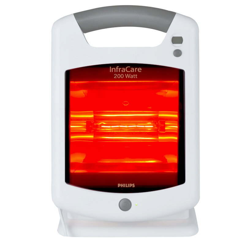 飛利浦(PHILIPS)紅外線治療儀HP3621 家用 醫用遠紅外線理療儀烤燈
