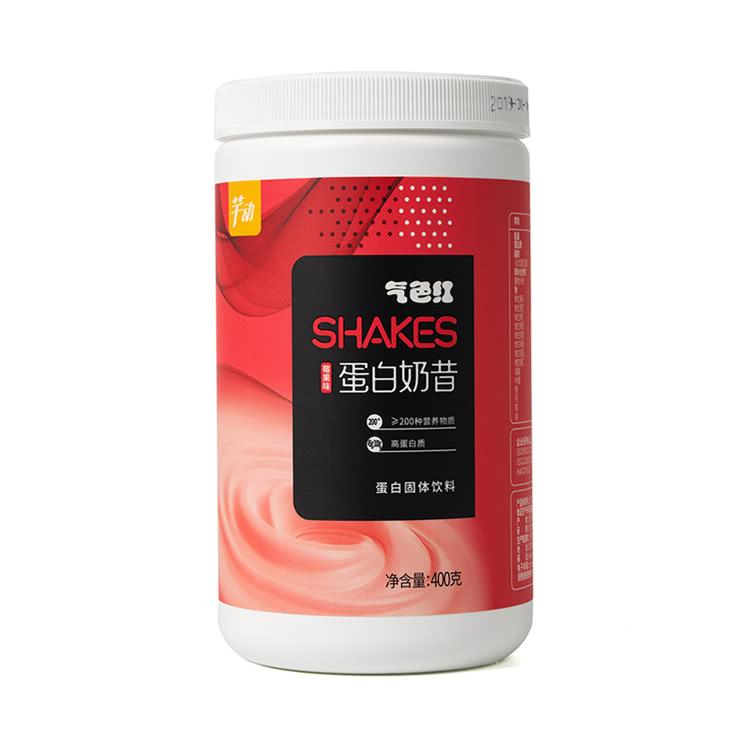 芊动蛋白奶昔代餐粉 低0脂食品223种营养饱腹6h   莓果味