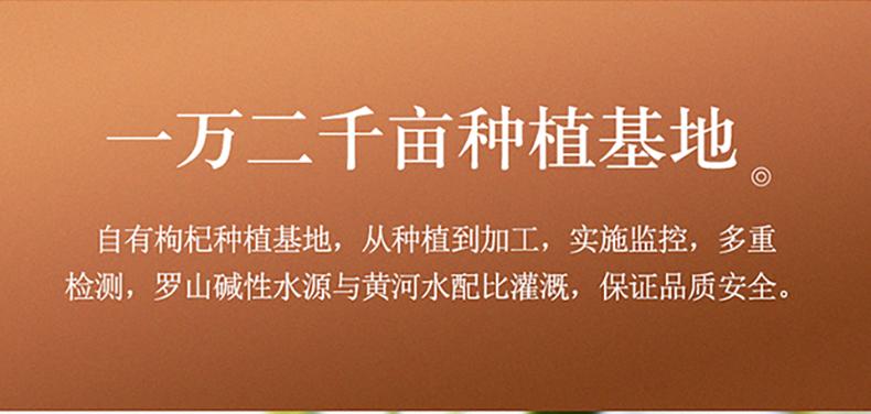 【特级特优枸杞】玺赞 中宁枸杞 新枸杞特级特优枸杞 牛皮纸袋250克