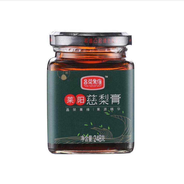 昌荣果缘 莱阳慈梨膏 梨膏制品食品冲调 248g/瓶