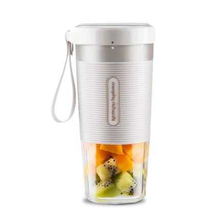【白色款】摩飞便携式榨汁机多功能小型电动水果榨汁杯家用料理打果汁搅拌机
