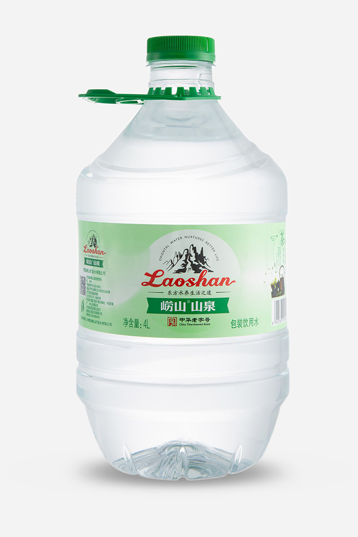 崂山山泉水 山泉水4L*4桶 整箱