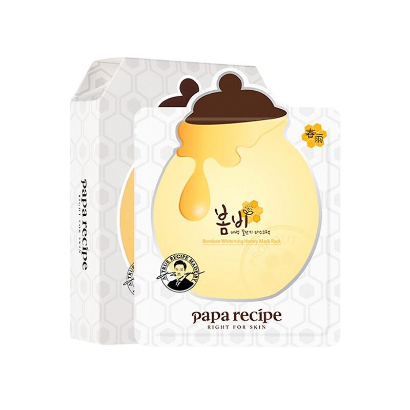 Papa recipe 春雨 蜂蜜亮白滋润面膜 10片装 给肌肤下场及时雨
