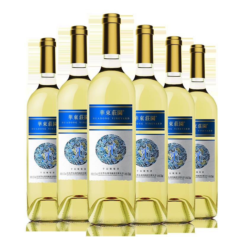 華東莊園沁系列干白葡萄酒750ml*6瓶/箱