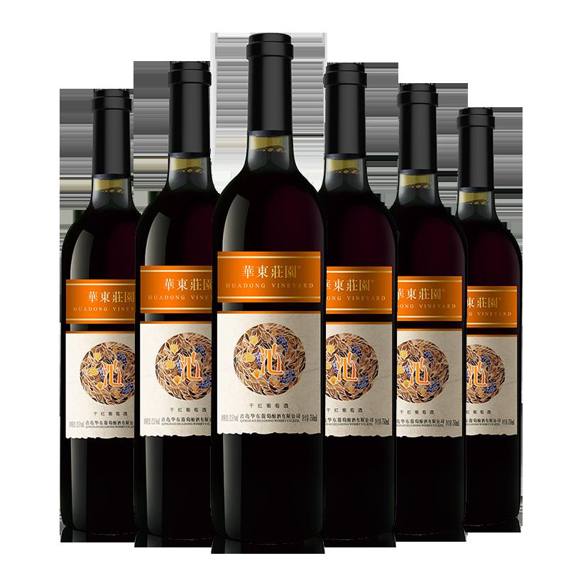華東莊園沁系列干紅葡萄酒750ml*6瓶/箱