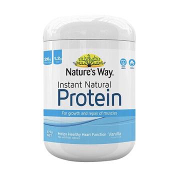 【淡淡香草味蛋白粉】Nature's way佳思敏营养大豆蛋白粉 香草味 375g