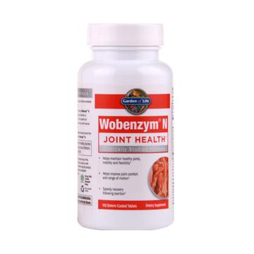 【从源头缓解关节疼痛】生命花园Wobenzym关节酶关节增强片 100片