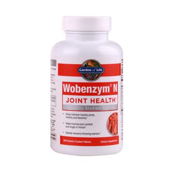 【从源头缓解关节疼痛】生命花园Wobenzym关节酶关节增强片 200片
