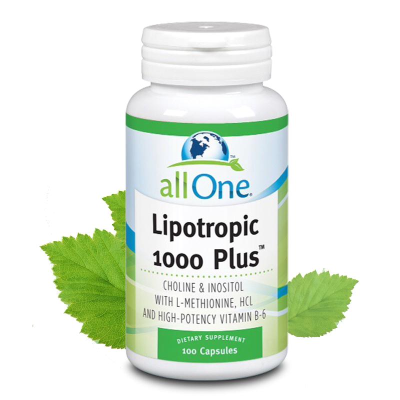 【保肝护肝】美国全效all one综合胆碱肌醇抗脂肪肝胶囊 100粒