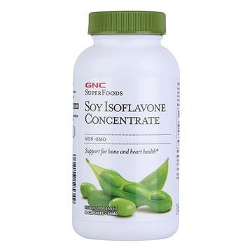 【植物雌激素 调节内分泌】美国GNC健安喜 浓缩大豆异黄酮胶囊 90粒