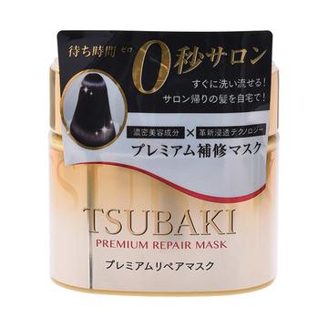 【0秒发膜 丝滑尽现】TSUBAKI 丝蓓绮 高级护发修复发膜 180g