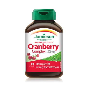 【呵护女性私密健康】Jamieson 健美生蔓越莓提取物胶囊 60粒