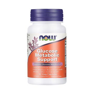 【科罗索酸-天然植物胰岛素】NOW 诺奥 葡萄糖代谢胶囊 90粒/瓶 控制血糖
