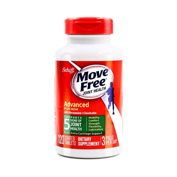 【限时特惠:买2立减100 】Schiff 旭福 Movefree维骨力氨糖软骨素绿瓶120片