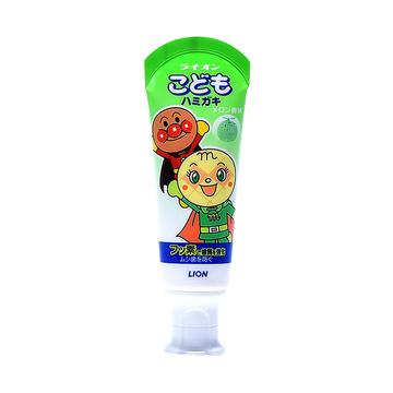 【日本进口】LION 狮王 儿童牙膏 (面包超人) 蜜瓜味 40g