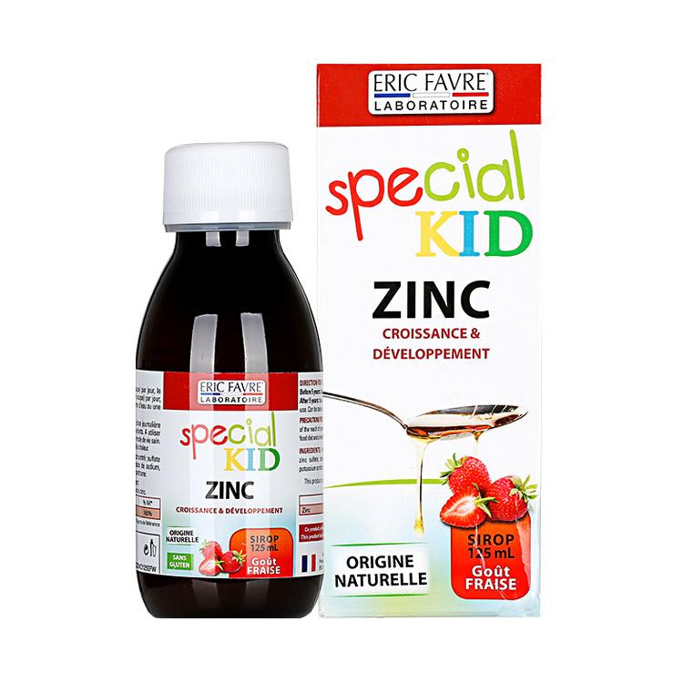 法国Eric Favre艾瑞可 埃里克儿童补锌营养液水果味 125ML