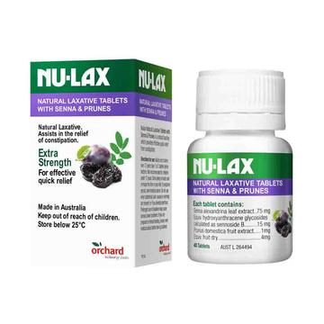【西梅配方,促进肠道代谢】NuLax加强版 西梅乐康片 40粒