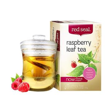 【暖宫助产】红印 RED SEAL覆盆子茶 助顺产茶35g 草本茶