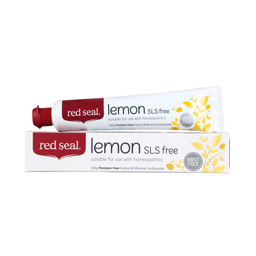 【清新柠檬香牙膏】新西兰Red Seal红印柠檬味清新口气牙膏 100g