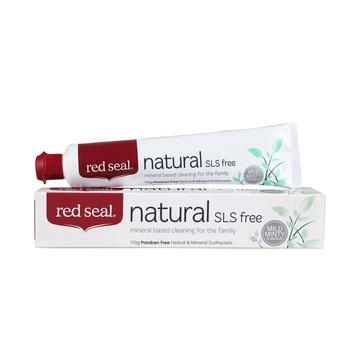 【清火固齿】新西兰Red Seal红印天然矿物质牙膏 110g 无氟