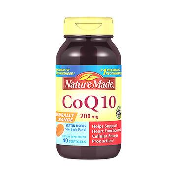 【强健心脏】美国 Nature Made 天维美 高浓度辅酶Q10软胶囊 200mg 40粒/瓶