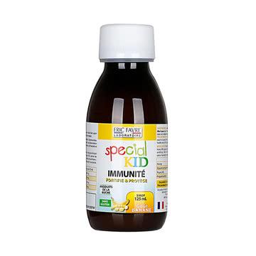法国Eric Favre埃里克儿童增强免疫力糖浆 水果味125ML