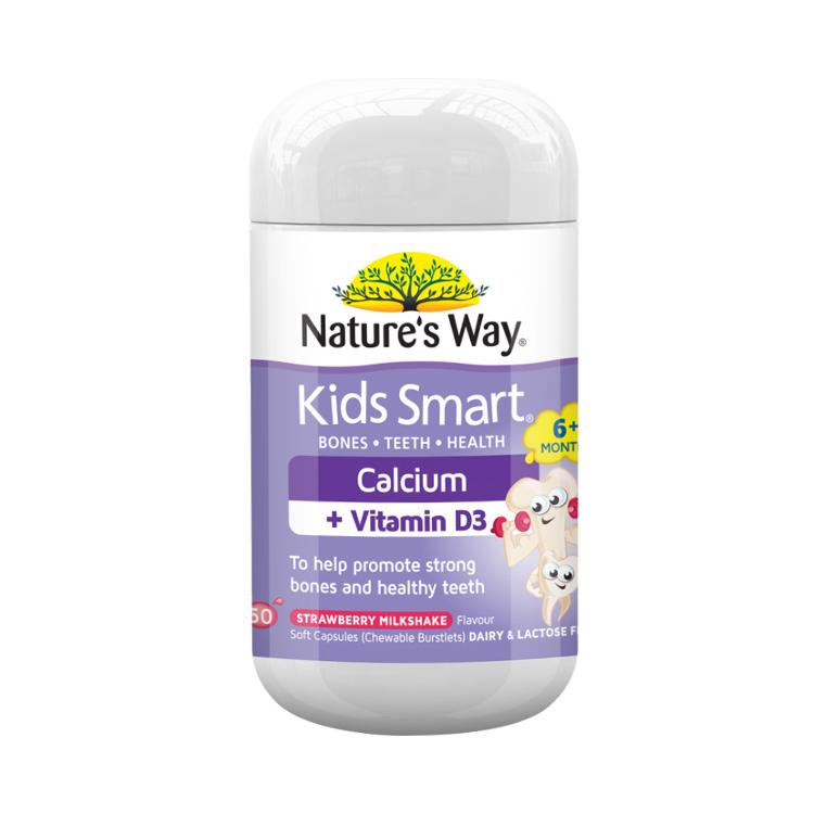 【孩子爱吃的液体钙】佳思敏Nature's way液体钙50粒 新版
